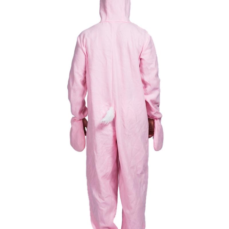 Disfraces de Conejito Pijamas de Animales Rosas de Halloween