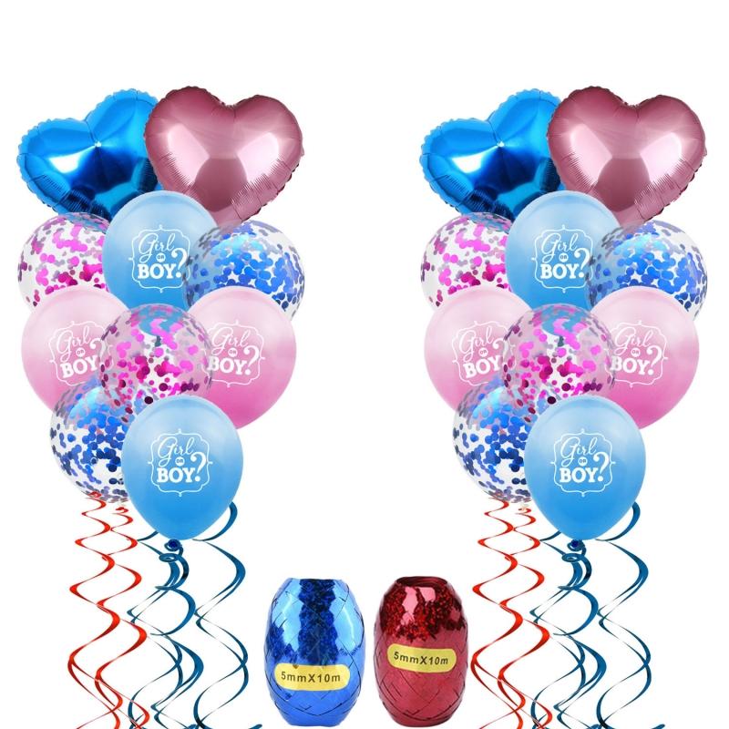 Incluidos con Cinta Globos de Decoración de Cumpleaños