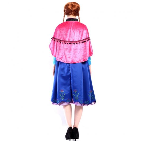 Disfraz Anna de Hielo y Nieve Vestido de Halloween