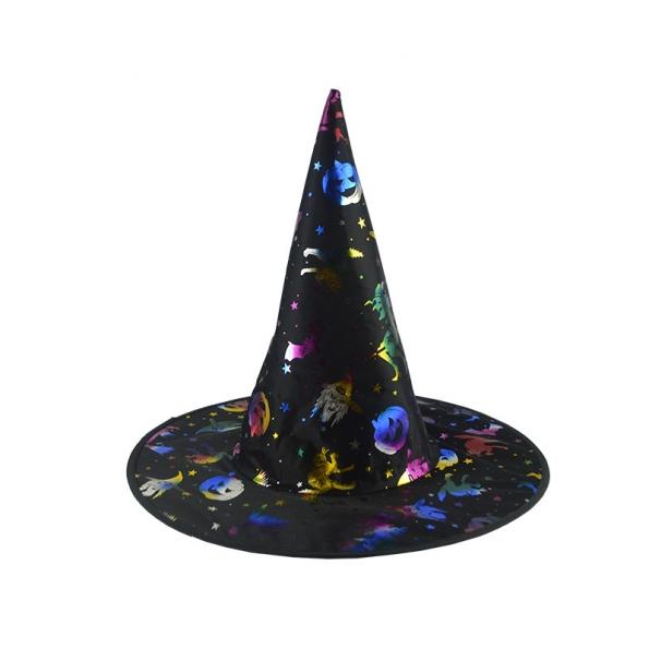 Sombrero de Bruja Dorado de Decoraciones de Halloween