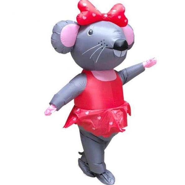 Señorita Señor Ratón Disfraces Inflables