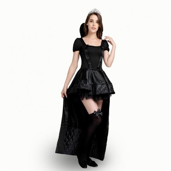 Disfraces de Carnaval para Adultos Vestido de Princesa Negro