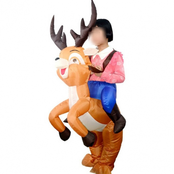 Niños Alce Navidad Disfraces Inflables