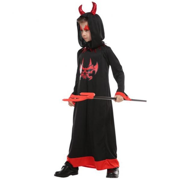 Disfraces de Ángel Diablo Cuernos Rojos Negros