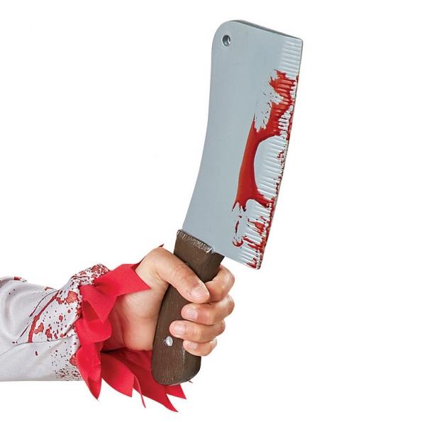 Disfraz de Payaso Ensangrentado Rojo para Infantil