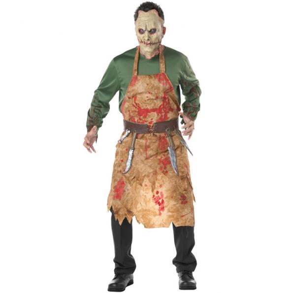 Disfraz Ensangrentado de Carnicero Sangriento para Hombre
