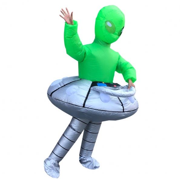 Disfraz de Alienígena Inflable OVNI