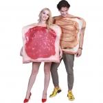 Disfraces de Comida de Mermelada para Parejas Juego de Halloween
