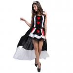 Disfraces de Reina  Divertidos Estilo Poker de Halloween