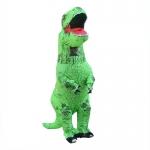 Tiranosaurio Músculo Verde Disfraces Inflables