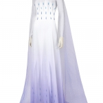 Disfraces de Frozen 2 Elsa Falda de Hilo Cosplay