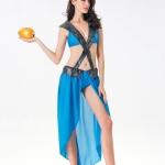 Disfraces Athena Goddess Vestido Sexy de Halloween
