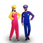 Disfraces para Parejas Cosplay Super María de Halloween