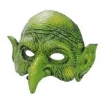 Accesorios de Halloween Máscara de Bruja Verde
