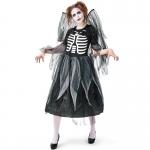 Disfraz de Zombie Esqueleto para Mujer