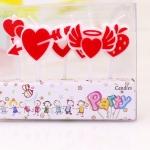 Amor Corazón Ángel Vela Cumpleaños Decoración
