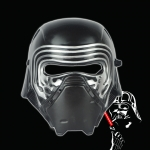 Máscara de Halloween Star Wars Negro Guerrero