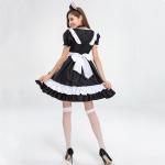 Disfraces Gato Vestido de Lolita Sexy de Halloween