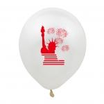 Globos de Látex del Día de la Independencia Decoración de Vacaciones