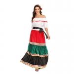 Disfraces de Mexicano Clásico Vestido Halloween para Mujer