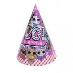 Muñeca Sorpresa Vajilla de Dibujos Animados Cumpleaños Decoración