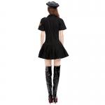 Disfraz de Uniforme  Policía de Mujer Negra