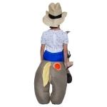 Poni Jinete Vaquero Disfraces Inflables