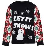 Jersey de Navidad Lindo Patrón de Muñeco de Nieve