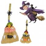 Escoba de Bruja Suministros de Halloween