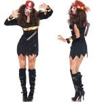 Disfraces de Zombie Uniforme de Juego de Bombero Halloween