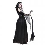 Disfraces Vampiro Bruja Esqueleto Vestido Largo de Halloween