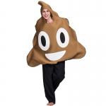 Disfraces de Caca Emoji de Halloween para Adultos