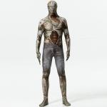 Patrón de Jeans de Traje de Esqueleto