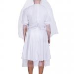 Disfraces Vestido de Novia de Cadena Inversa de Halloween para Hombre