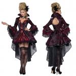 Disfraces de Vampiro para Niñas y Mujeres Negro Rojo
