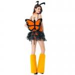 Disfraces Libélula de los Elfos Vestido de Princesa Sexy de Halloween