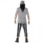 Disfraces Piratas del CaribeTraje de Terror Zombie Parejas Halloween