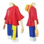 Disfraces de Cosplay de Una Pieza Luffy COS