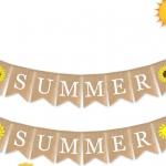 Tema de Verano Tire de la Bandera Decoración de Vacaciones
