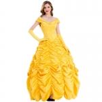 Disfraz Bella y Bestia Princesa Bella Vestido de Halloween