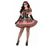Disfraces Zombie Esqueleto Novia Vestido de Halloween
