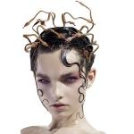 Accesorios de Halloween Diadema de Serpiente Medusa