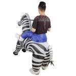 Disfraces Hinchables Para Adultos Cebra