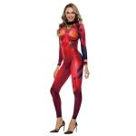 Disfraces de Evangelion Mono con Estampado de Halloween para Mujer