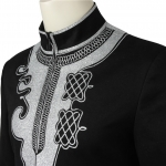 Disfraz de Pantera Negra Tichara Coat Cosplay