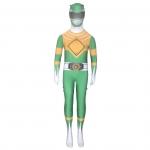 Equipo de Dinosaurios Guerrero Verde Disfraces de Superhéroe