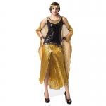 Disfraces Cleopatra Vestido de Mars de Halloween para Mujer