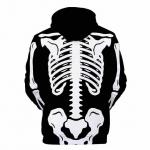Disfraces de Esqueleto para Adultos Niños Impresión de Calavera