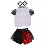 Disfraz de Reina Harley Quinn para Niña