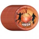Vajilla de Equipo de Impresión de Fiesta de Baloncesto